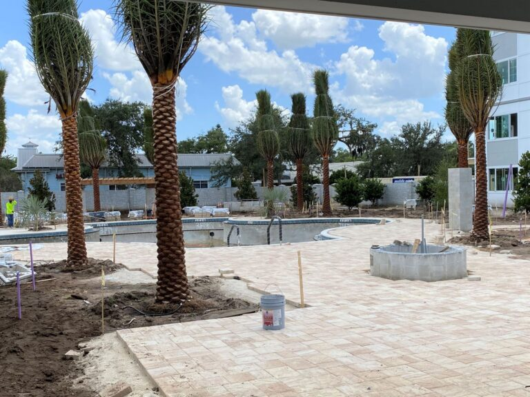 Enclave at 3230 Pool deck photo