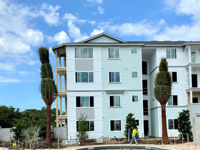 Enclave at 3230 residential building exterior photo.