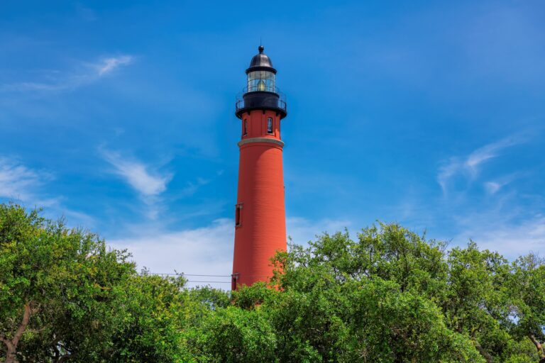 Ponce Inlet Kighthouse, State Park, Florida Coastline, Historical Landmark