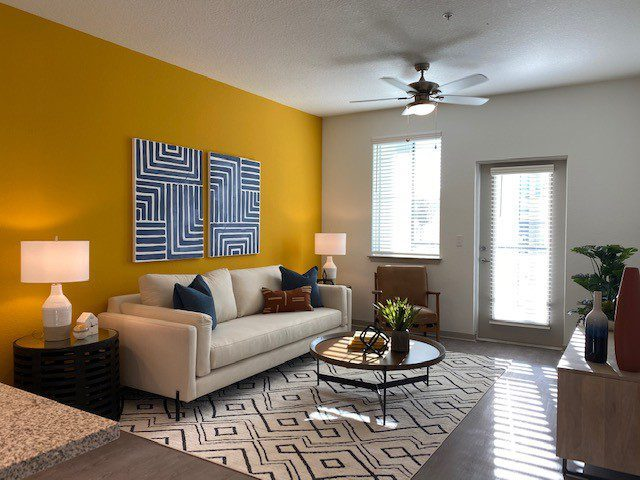 Brand New Apartment Home, Model, One Bedroom, Living Room