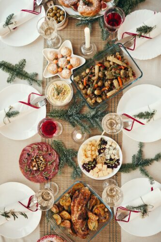 stuffing, cranberry sauce, christmas dinner, christmas plates, stuffing