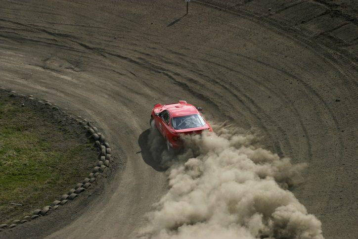 Race car at Daytona International Speedway near Enclave at 3230