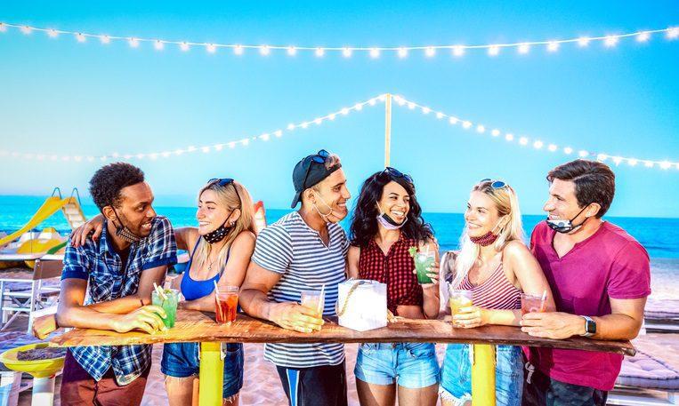Beach Bar Crawl in South Daytona FL near Enclave at 3230
