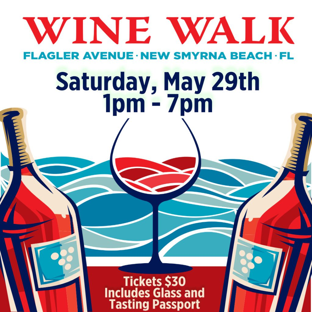 Wine Walk in New Smryna Beach near Enclave at 3230 apartments