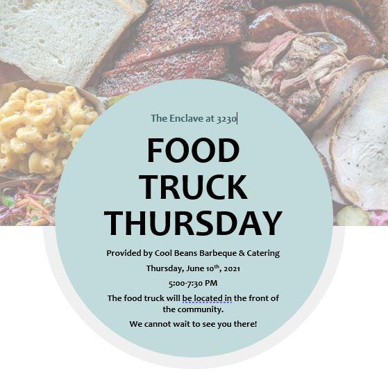 Food Truck Thursday at Enclave at 3230 in Daytona Beach Shores
