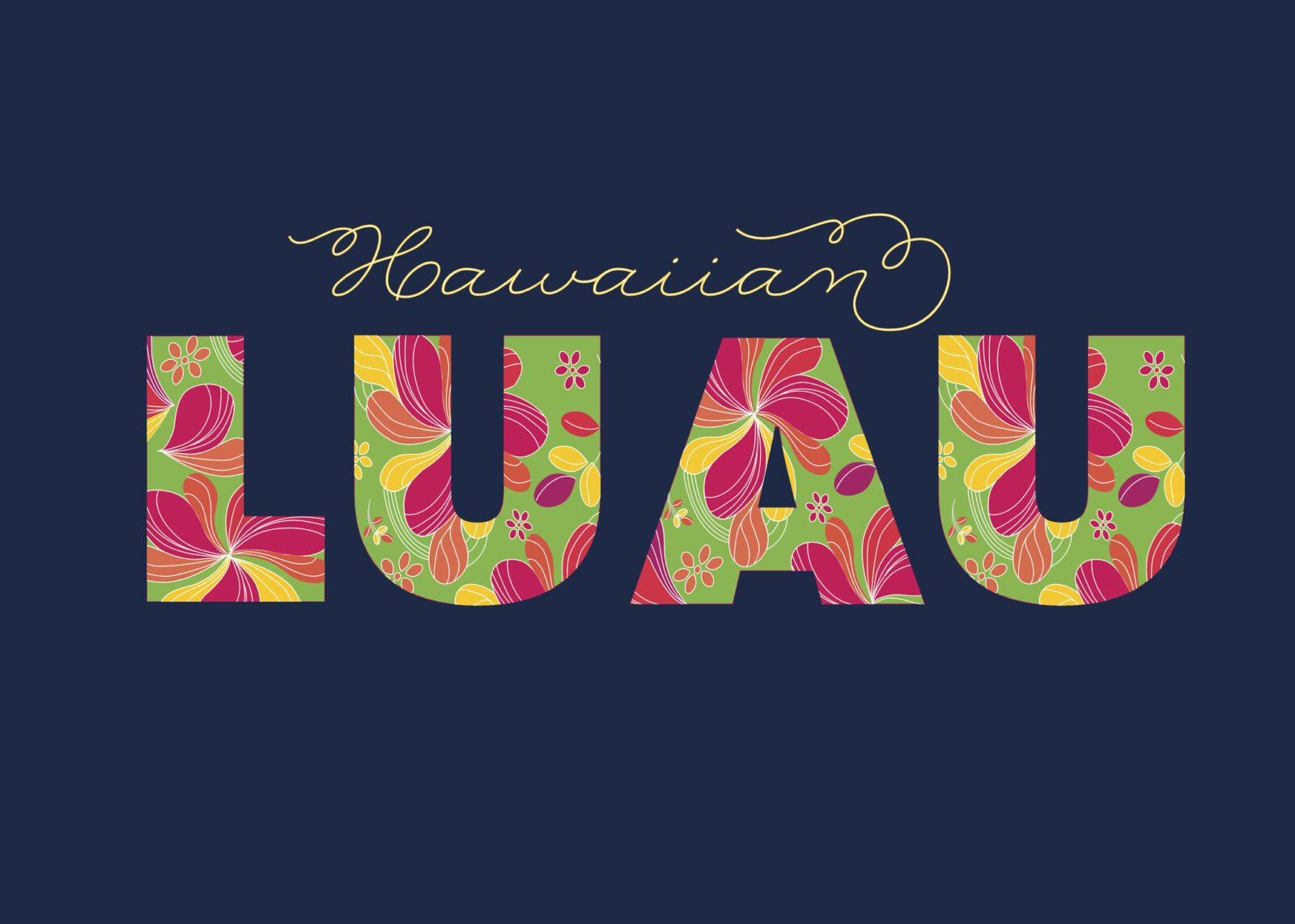 luau beach party at the Enclave at 3230