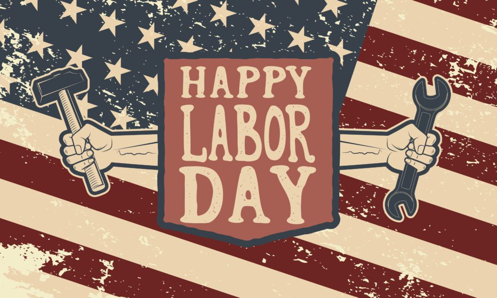 Labor day at Tanger outlets near enclave at 3230