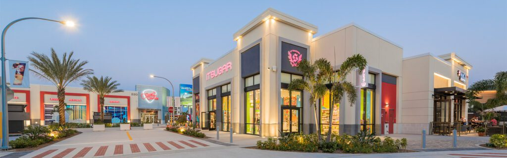 Shopping in One Daytona near Enclave at 3230