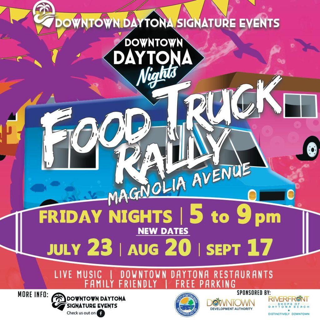 Daytone Beach Food Truck Rally in Daytona Beach