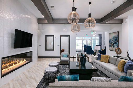 Enclave 3230 Apartments clubhouse