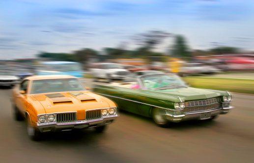 Car show in one daytona near Enclave at 3230